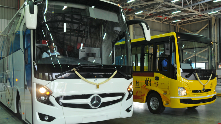 Mercedes Benz Manufacturing Plant In Chennai