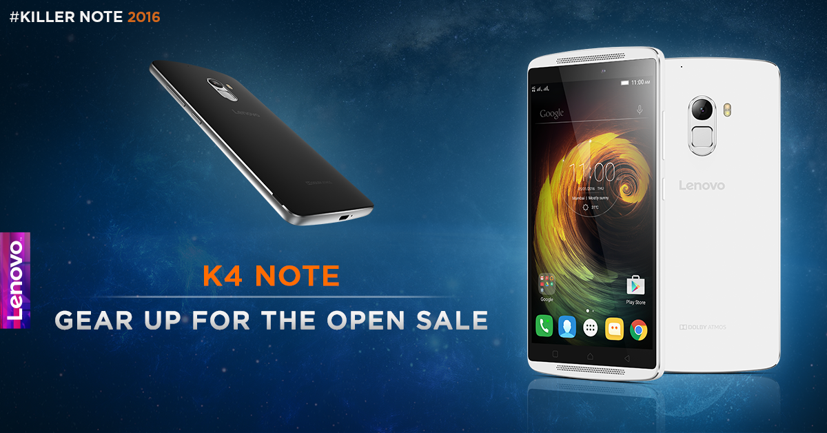 Under attack from LeTV Le 1s, Lenovo puts K4 Note on open sale