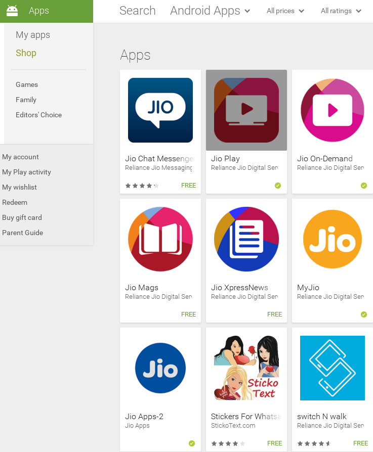 Reliance Jio releases version 2 of its app suite on Google ...