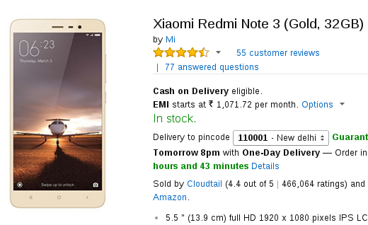 User reviews indicate Xiaomi Redmi Note 3 not much better than LeTV