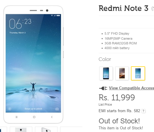 REDMI-note-3-out-of-stock