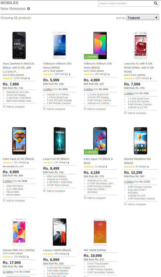 Xiaomi Mi4 lists on Flipkart: But where are the reviews?