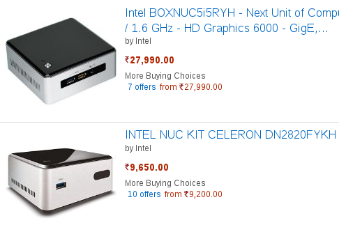 Build a powerful PC at just Rs 16,990 – Intel advocates new cheaper, smaller desktops via NUCs