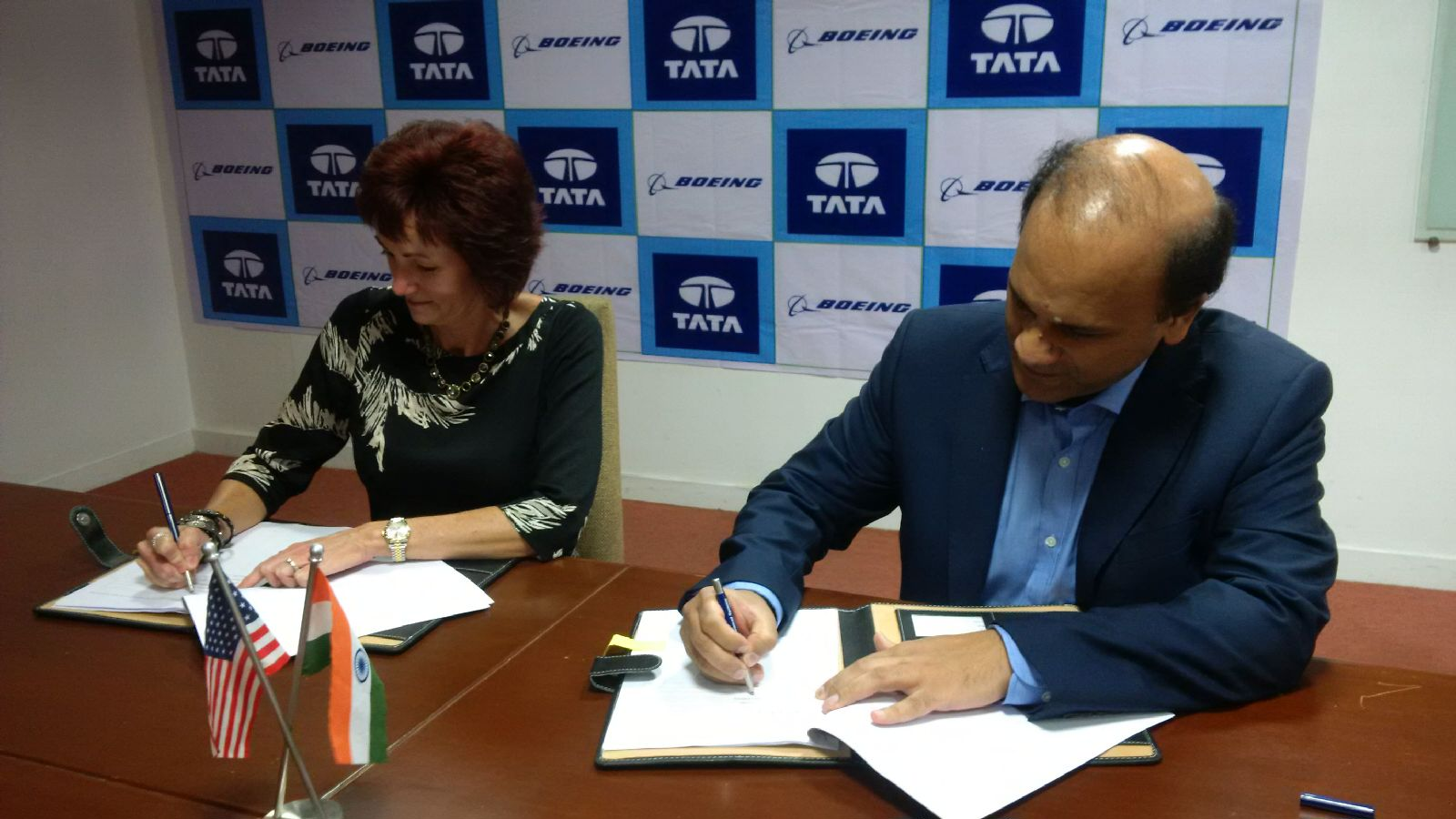 Boeing, Tata sign agreement to manufacture aerospace parts in India