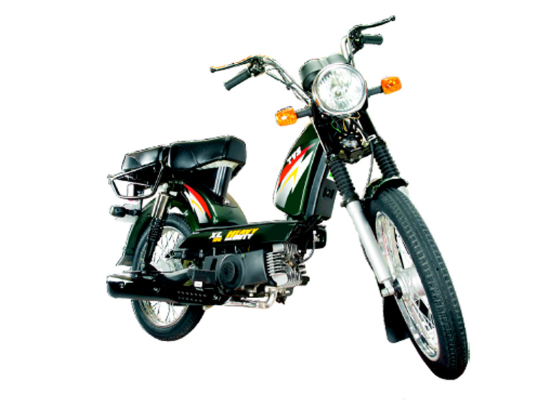 TVS XL Super special edition moped launched