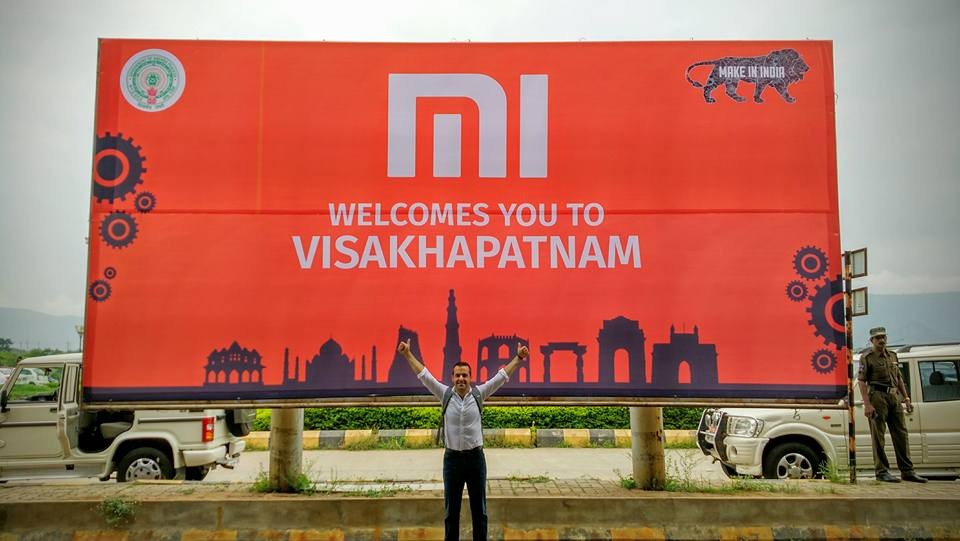 Xiaomi's first factory in India in Andhra Pradesh; victory for Chandrababu