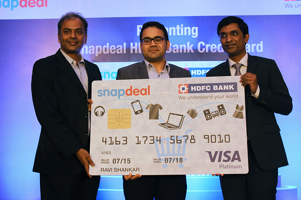HDFC, Snapdeal offer co-branded credit card with special offers
