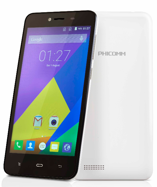 Phicomm Energy 653 – India's cheapest 4G LTE smartphone with HD display