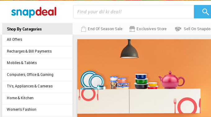 Shoppers Stop to sell clothes via Snapdeal