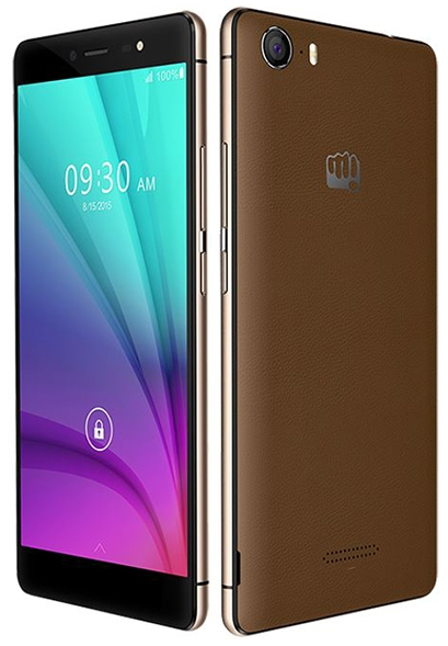 Rumored picture of Micromax Canvas 5