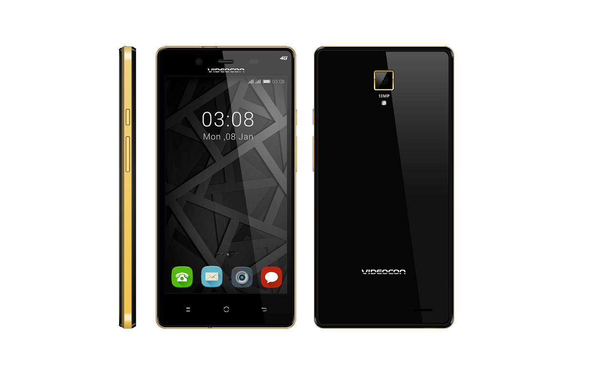 Videocon Z55 Krypton launched with 4G, 5-inch screen, 1 GB RAM