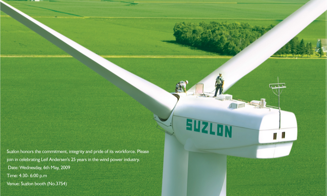 Suzlon wins 200 MW wind energy project in Andhra Pradesh