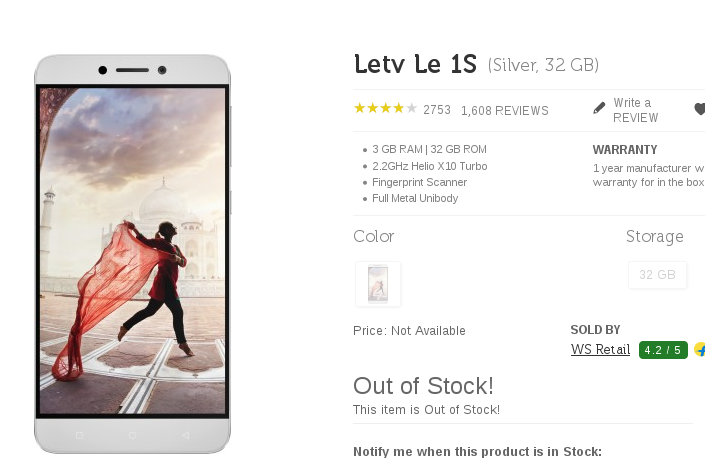 SuperAngryFans: LeTV Le 1s out of stock within minutes of open sale, LeEco fans angry