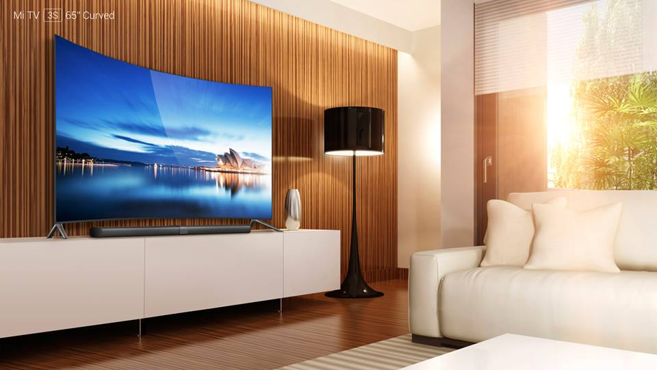 xiaomi launches 65 inch curved tv in china for rs 92 000 rtn. Black Bedroom Furniture Sets. Home Design Ideas