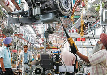 India's Core IIP up a robust 6.4% in March