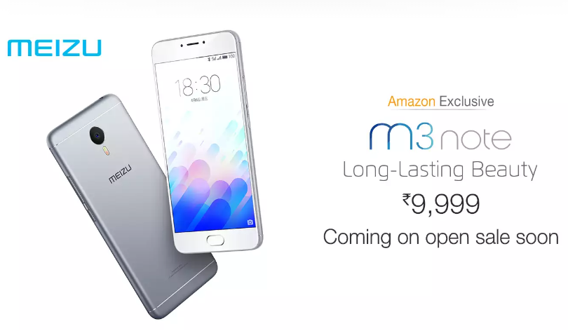 Meizu M3 Note open sale coming up