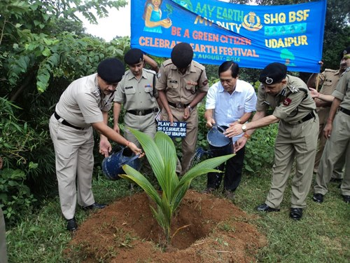Defence Ministry launches ambitious Tree Plantation Drive