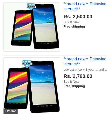 DataWind's market-share continues to increase as cheap tablet sales grow