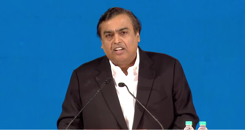 WATCH LIVE: Mukesh Ambani at Reliance Industries AGM to unveil Jio plans and tariff details
