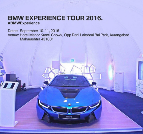 BMW experience tour reaches Aurangabad this weekend