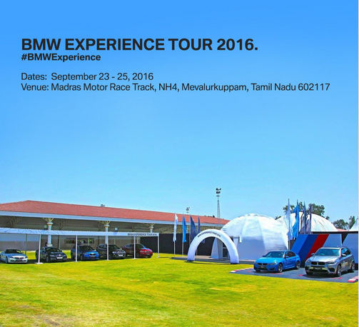 BMW experience tour reaches Kancheepuram this weekend