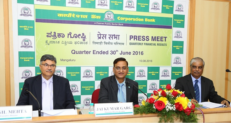 Government invests Rs 508 cr in Corporation Bank