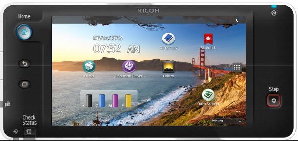 Ricoh printers to come with Android and 10-inch display panels