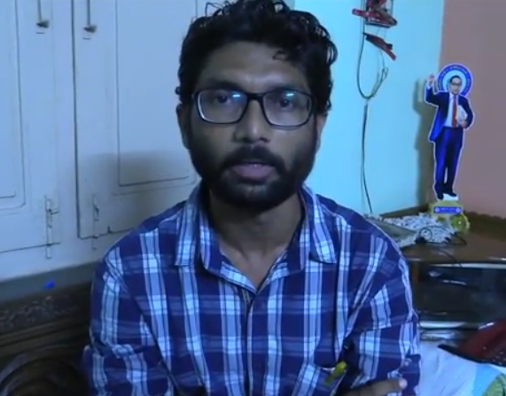Jignesh Mevani takes to the Internet to raise cash for Dalit protests