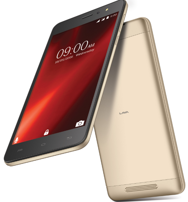 Lava launches 5.5 inch, 1 GB VoLTE phone at Rs 7,349