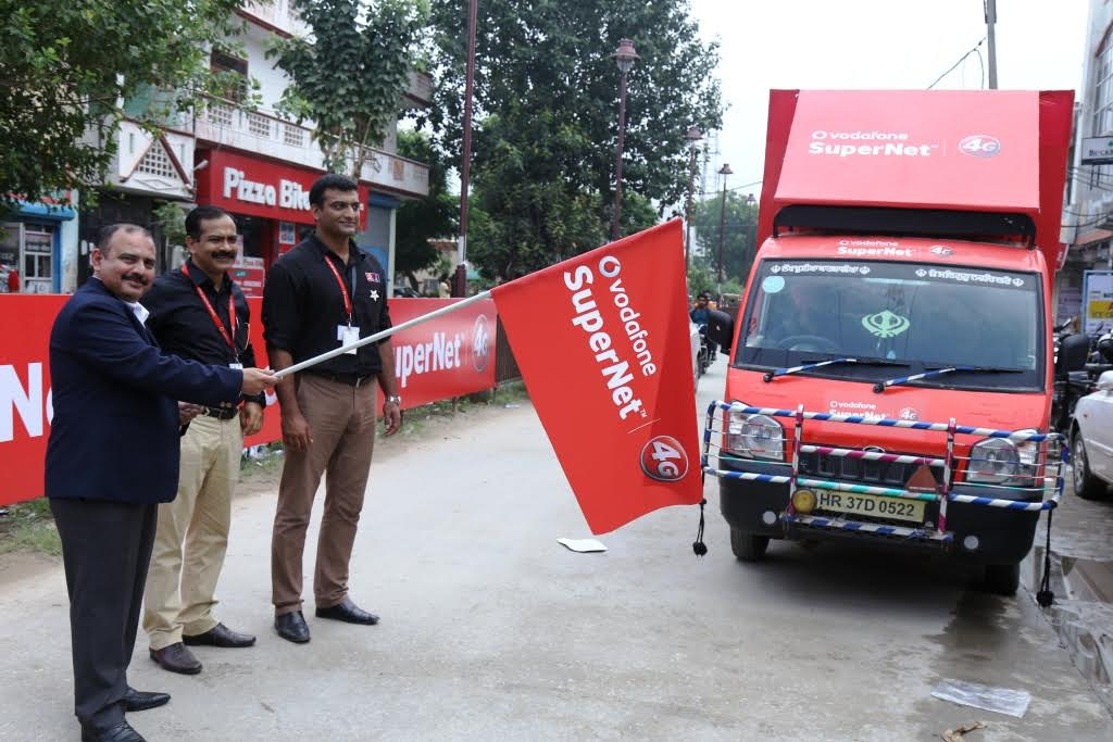 Vodafone 4G launches in Sonipat with double data