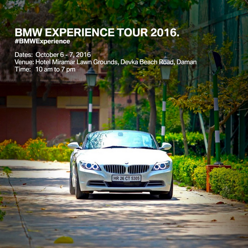 BMW Experience Tour hits Daman on 6-7 th October