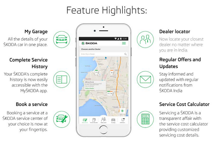 SKODA launches app with spare part prices, service charges for its cars