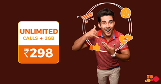 Tata DoCoMo offers 2GB data + Unlimited Calls for Rs 298 per month