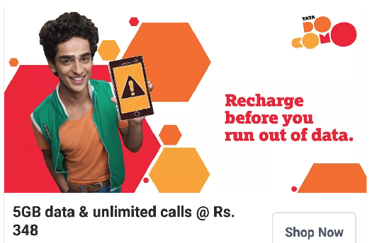 Tata DoCoMo cuts 3G price to Rs 40/GB under unlimited call plan