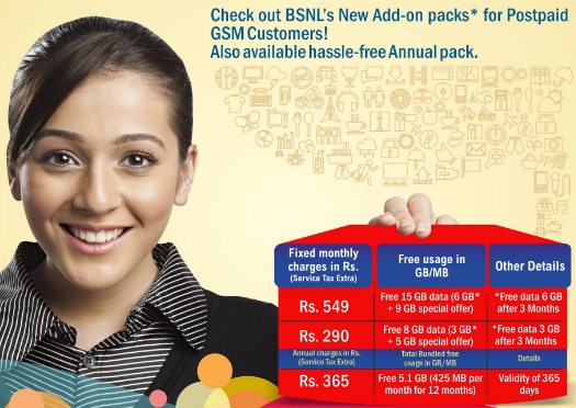 BSNL announces new postpaid plans with more data, unlimited calling