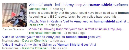 Did the army really use a Kashmiri as 'human shield' as Omar Abdullah claims?