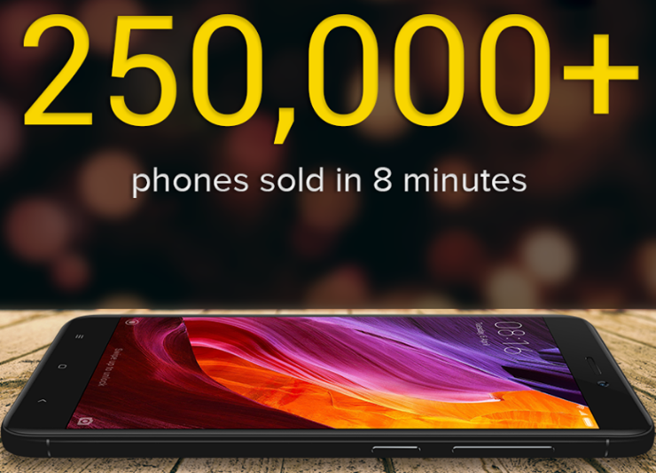 Xiaomi Record Breaking Sales in 12 Hours