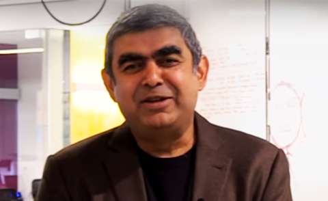 Vishal Sikka says Infosys trying to retrain employees displaced by automation