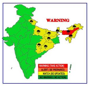 IMD issues rainfall warning for Himalayan states, NE and Jharkhand