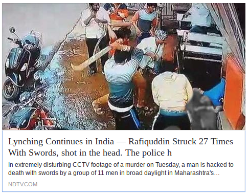 Gang war or lynching? NDTV withdraws headline after outrage