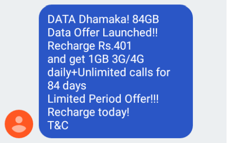 Vodafone announces ₹244 plan; for new prepaid customers