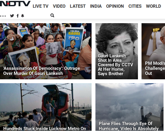 NDTV stock up 76% in four days, company says no clue why