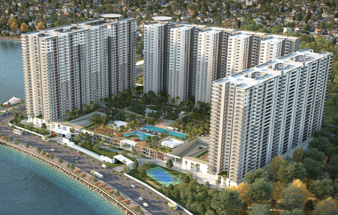 Real estate player sobha enters gujarat with 500 cr gift project sobha marina one in kochi negle
