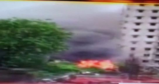 Plane on test flight crashes in Ghatkopar