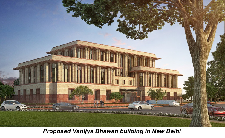 Govt to use British style for new ministry building in Delhi