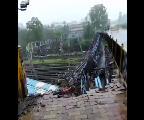 ANDHERI BRIDGE COLLAPSE: Shiv Sena MLA says Indian Railways prevents BMC from repairing bridge