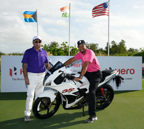 Hero MotoCorp renews partnership with Tiger Woods