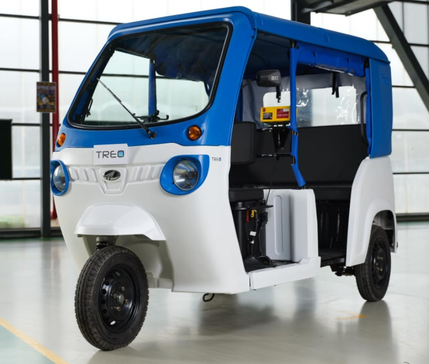 TREO: Mahindra launches electric auto with 170 km range, Rs 1.3 lakh price