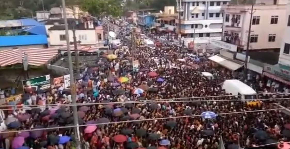 Leaked tape shows Kerala BJP chief taking credit for Sabarimala protests