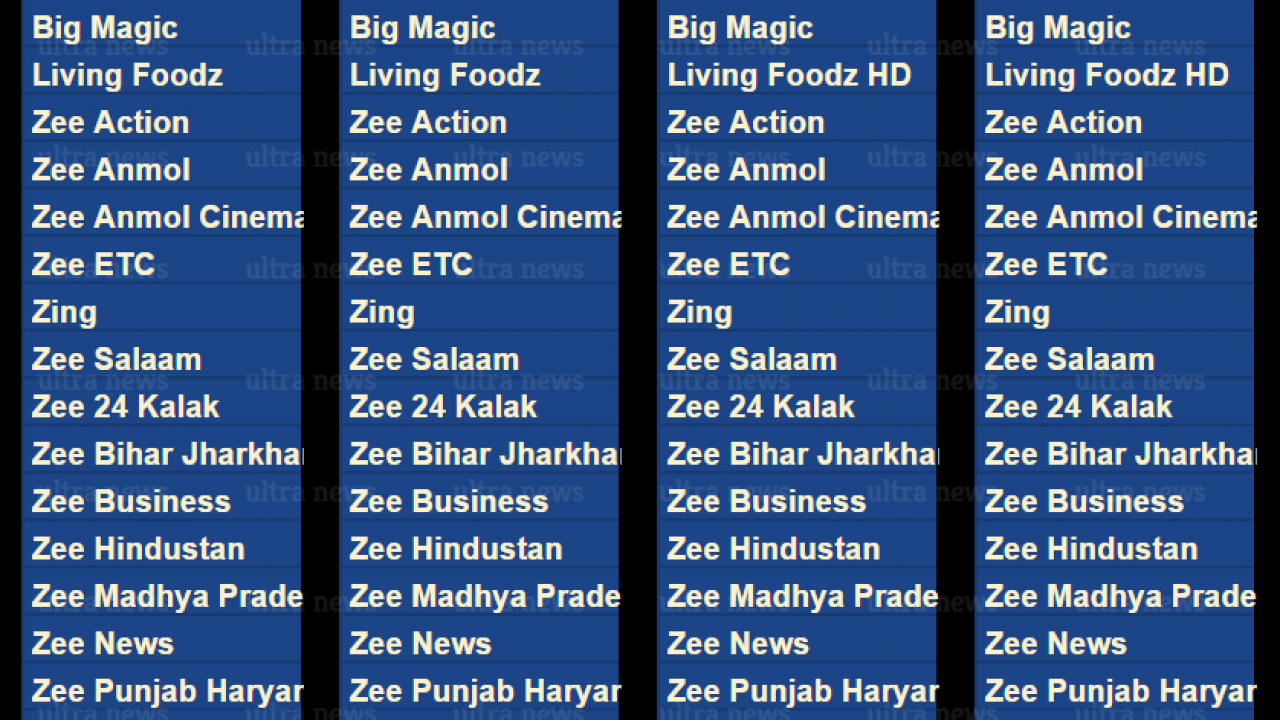 LIST: Zee Entertainment announces channel packs for Hindi, Marathi